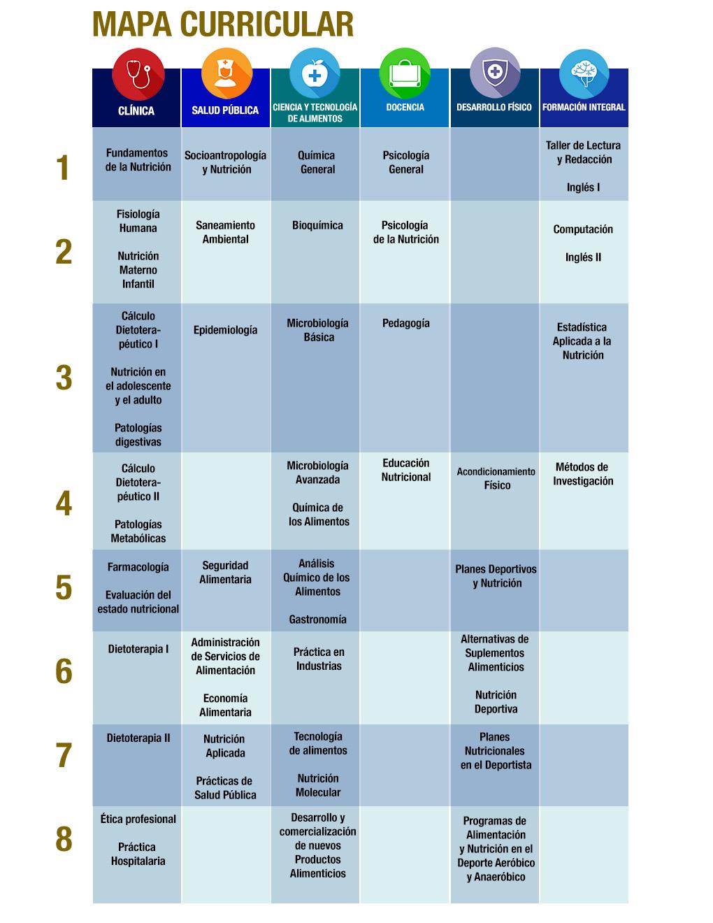 MAPA-CURRICULAR-LICENCIATURA-EN-NUTRICIÓN-COATZACOALCOS-UNIVERSIDAD-ANGLO-IESAM-COATZA