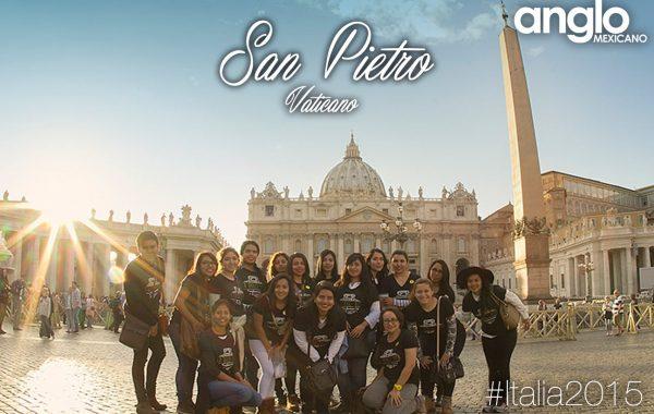 Viaje a Italia alumnos del Instituto de Estudios Superiores Anglo Mexicano - intercambios al extranjero Coatzacoalcos Universidad Licenciatura en Idiomas